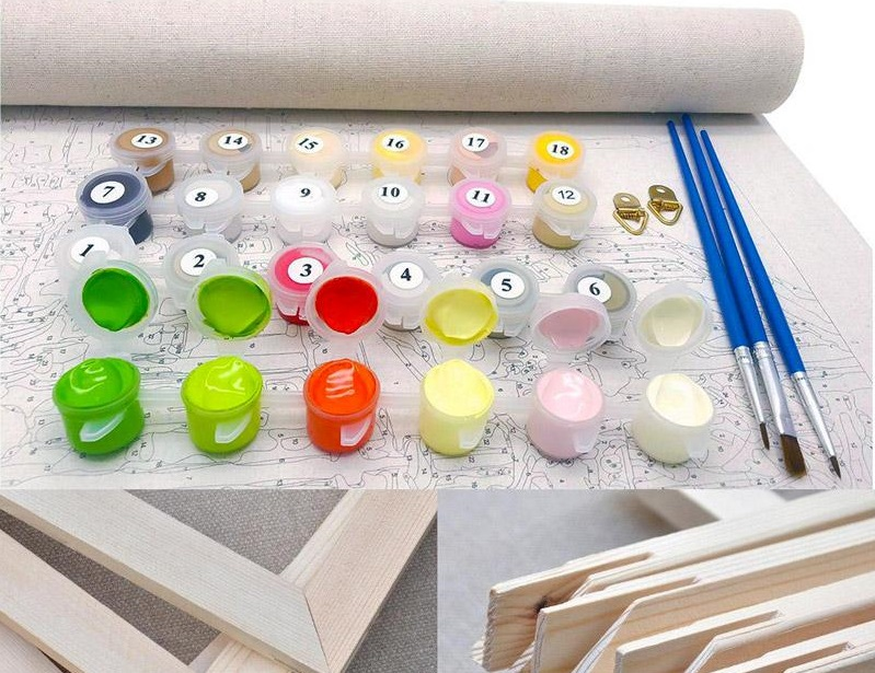 Buy Personalized Paint By Number Kit Today