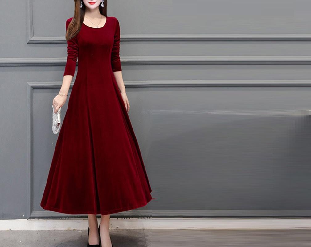 Shift and Chiffon Maxi Dress for Women online!